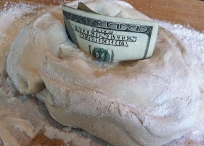 Flour Into Dough