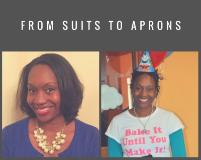 Turning in Suits and Pumps For an Apron and Spatula