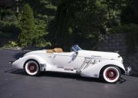 1936 Auburn Speedster Side