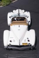 1936 Auburn Speedster Top Rear