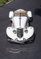 1936 Auburn Speedster Top Front