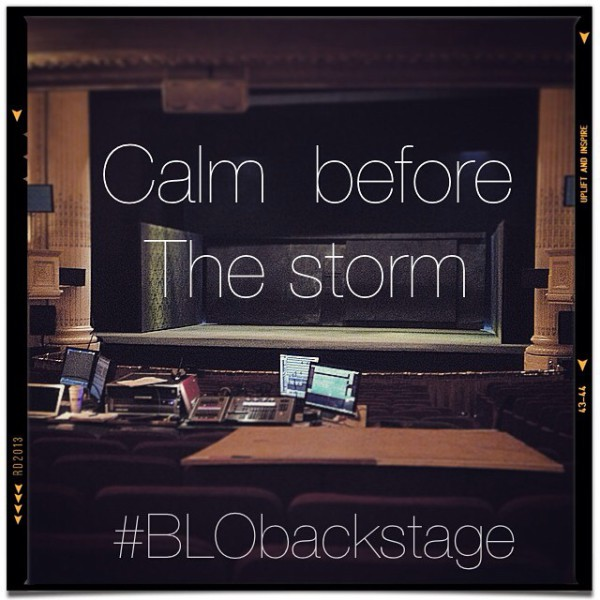#BLObackstage
