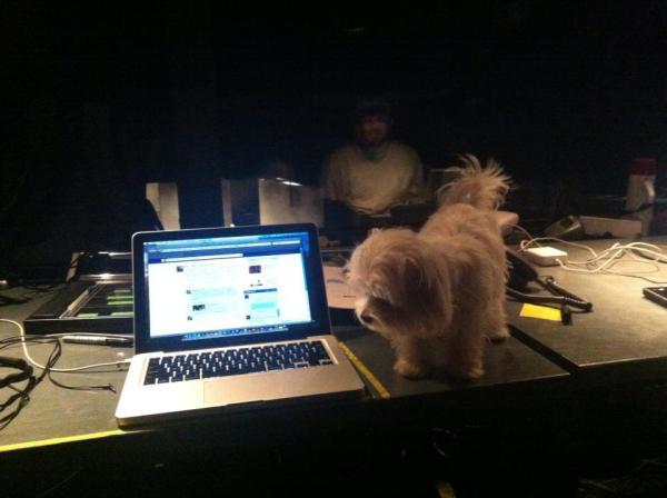 Frida in tech for Lucretia