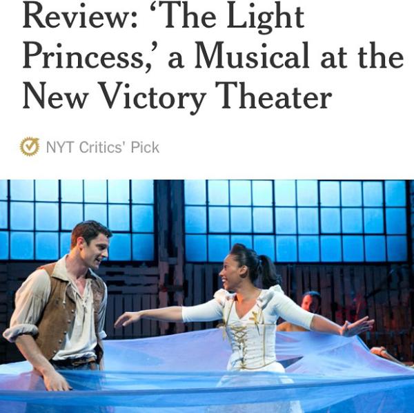 NY Times critic's pick