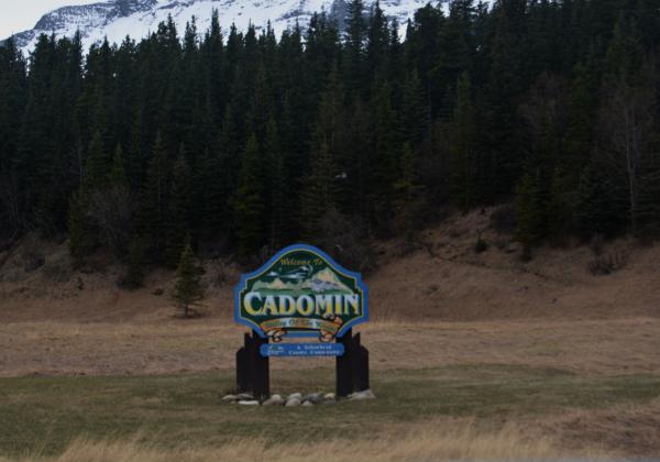 Cadomin Sign