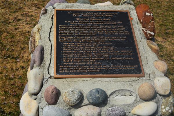 Baldy Robb's Grave