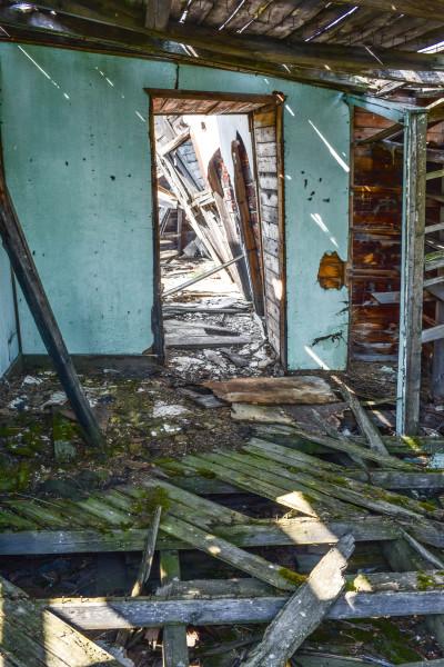 Inside the Old Shacks