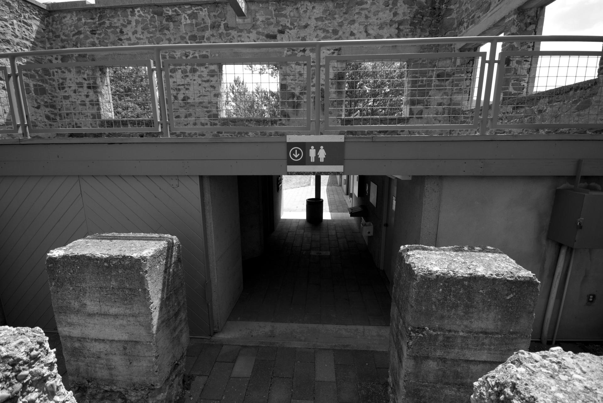 The Powerhouse's Modern Bathroom Area