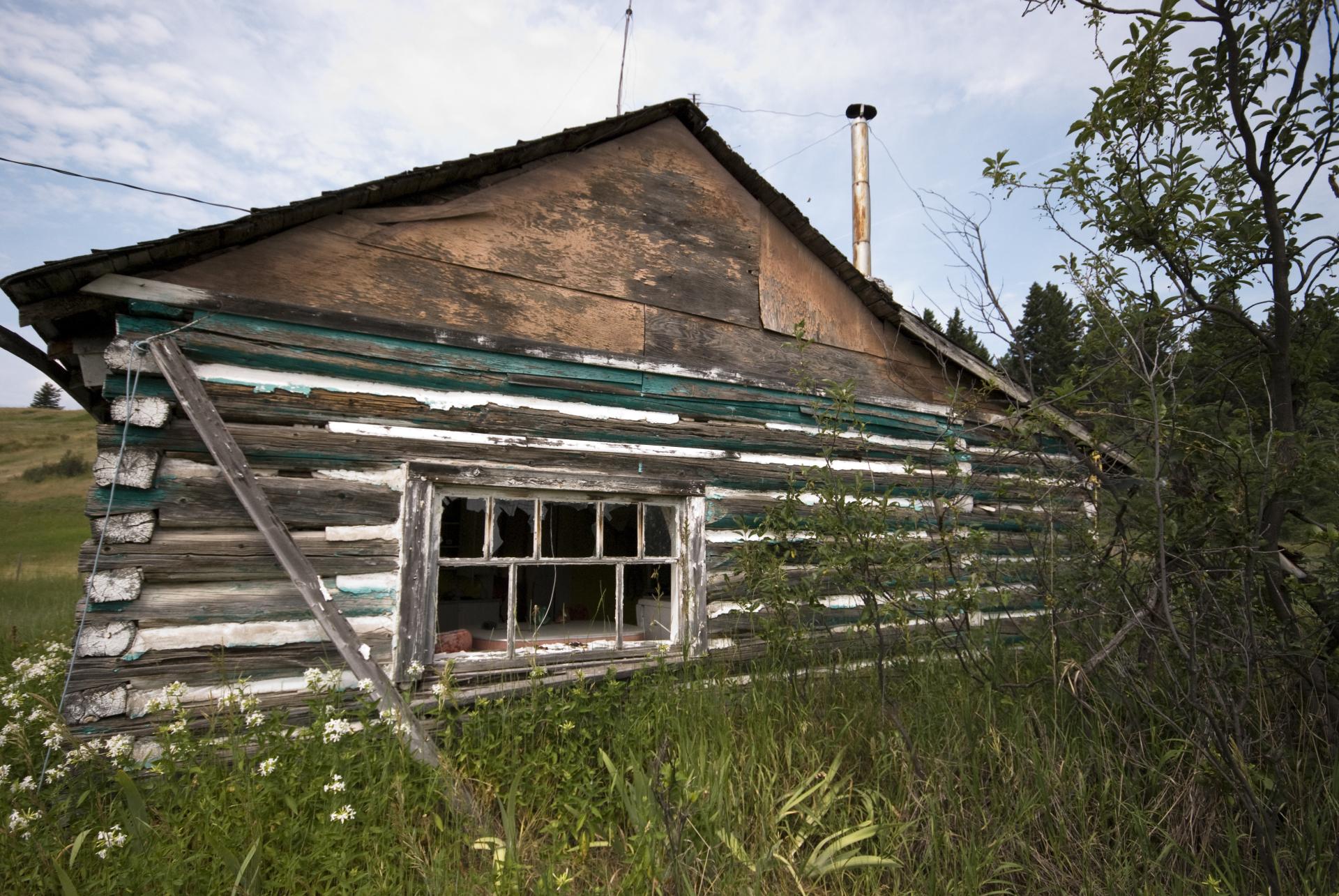 Outside of the Abandoned House