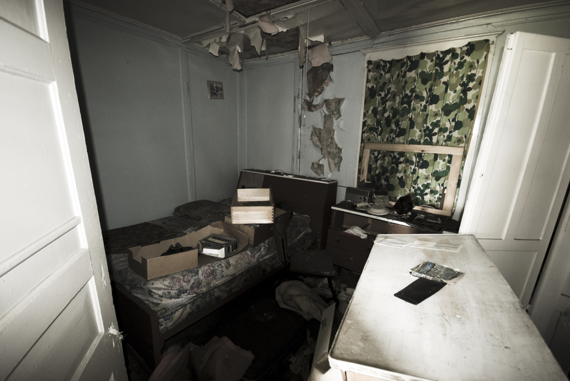 Bedroom of Abandoned House