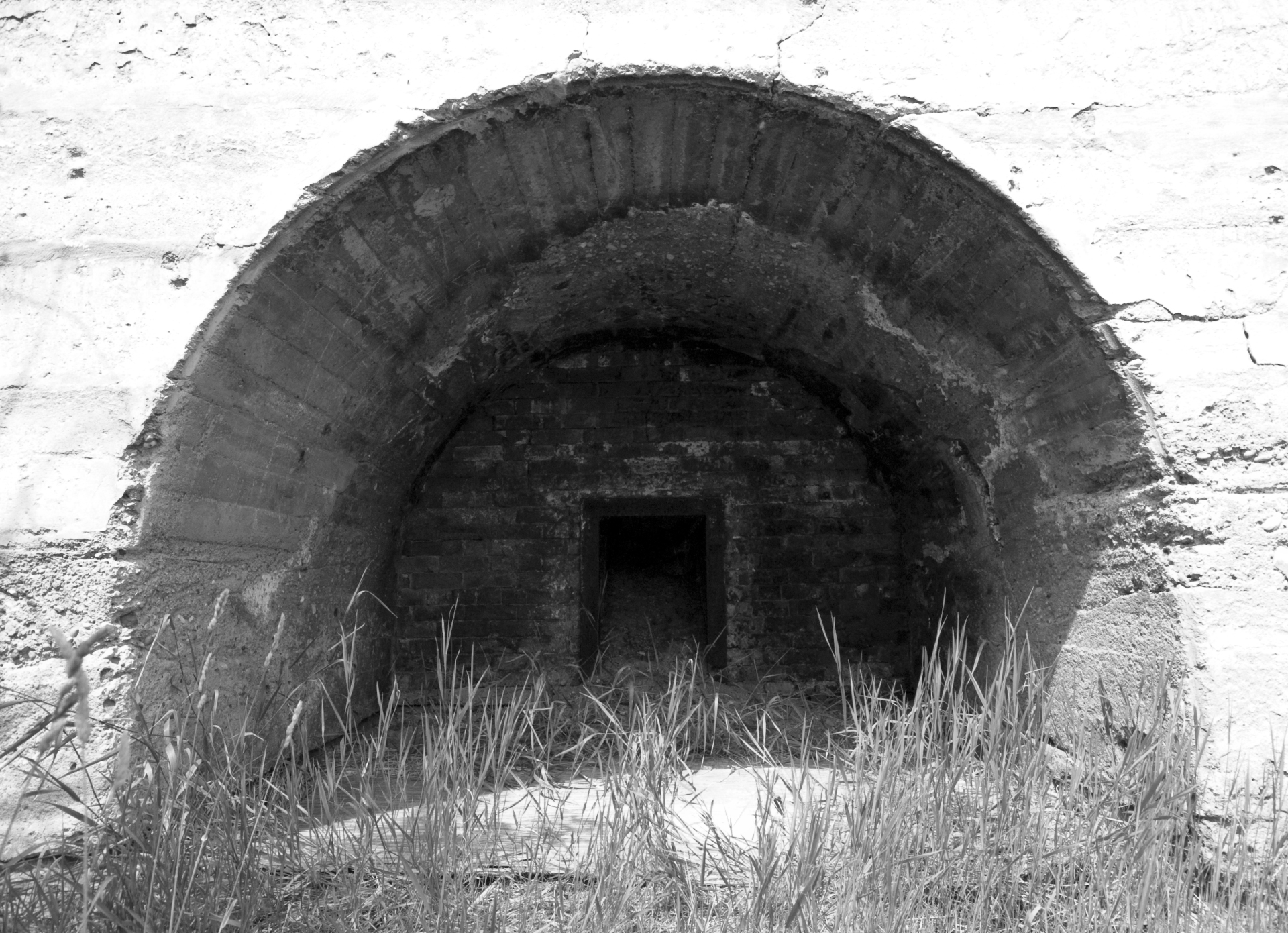 Inside a Lime Kiln
