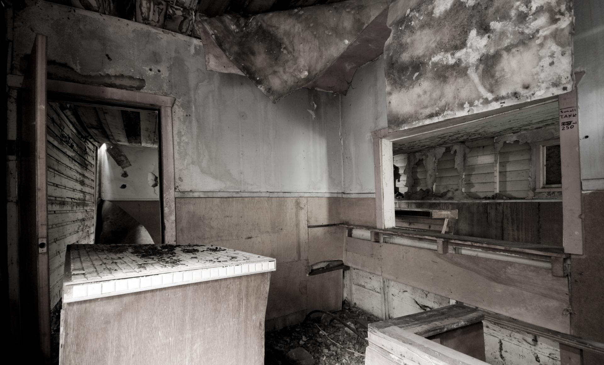 A Forlorn Kitchen