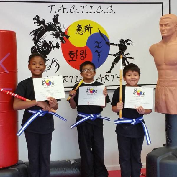 Kali Kids Belt Promotion