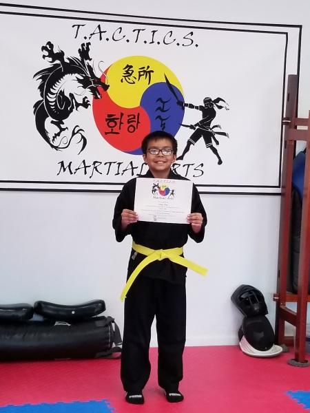 KMA Kids Belt Promotion