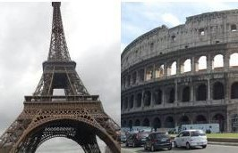 Paris & Rome: $1057PP (6NTS) Hotels  Airfare from Houston, 3/2016