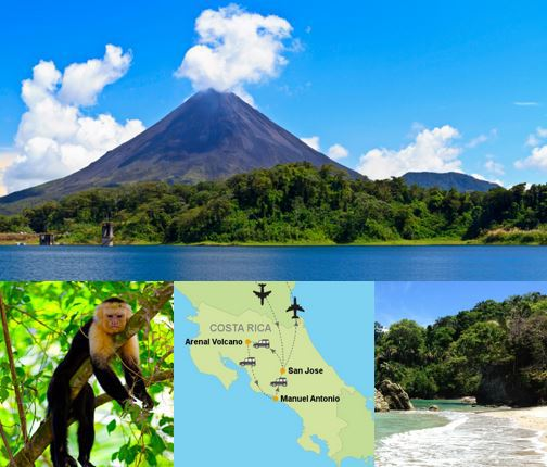 Costa Rica $652 PP Flights + Hotels + Car Rental