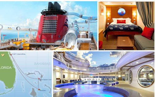 $654 PP Disney Cruise Over Thanksgiving Holiday