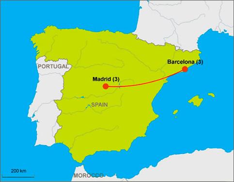 $1075 PP, $300 Dep. Madrid & Barcelona