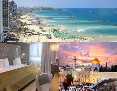 Israel $1190PP, Deposit $250PP Incl Flights from Houston