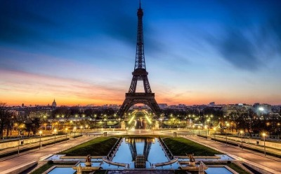 Paris,  May 11-16, $743 per person, incl non-stop flights from IAH