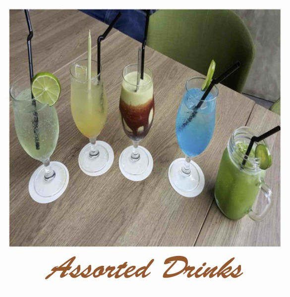 Pondok Gurame Assorted Drinks