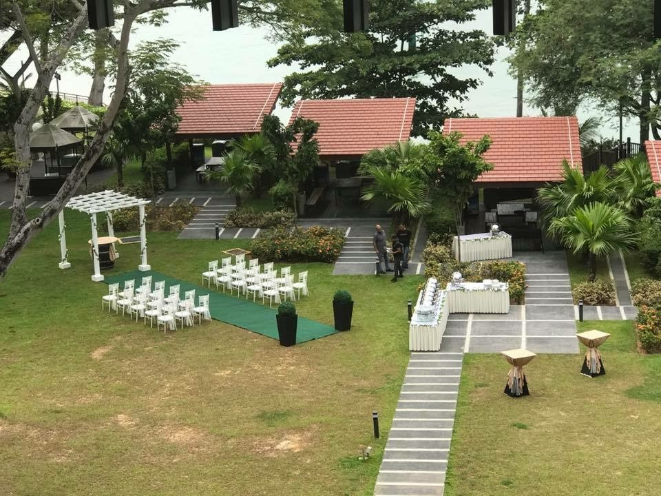Pondok Gurame Wedding Layout Ground Floor