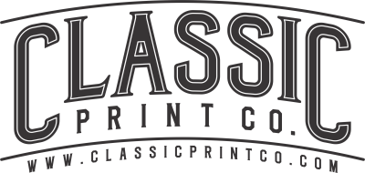 classicprintco, screen print, t-shirt, monogram, apparel, uniform