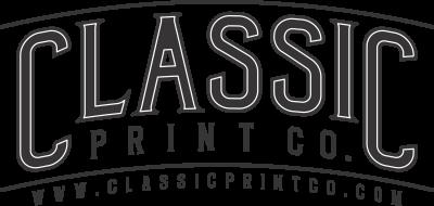 classicprintco, screen print, t-shirt, monogram, apparel, uniform