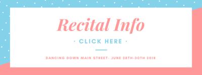 Recital Information