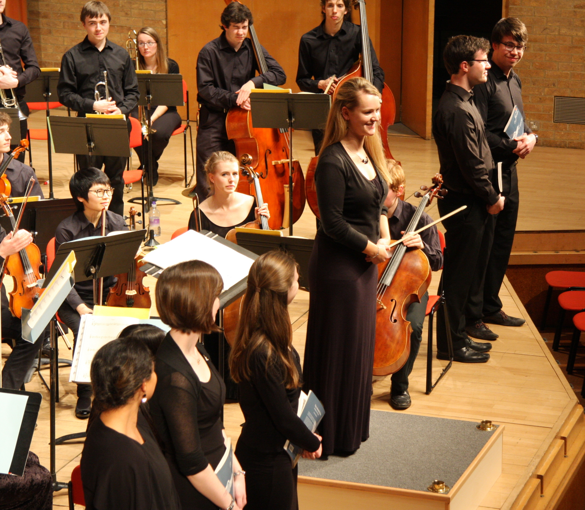 MagSoc Chorus and Symphony Orchestra March 2014