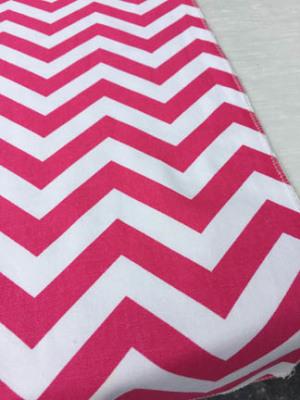Chevron Runner - Hot Pink