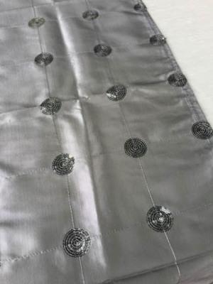 Sequin Dot Runner - Silver
