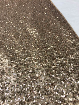 champagne gold sequin table runner