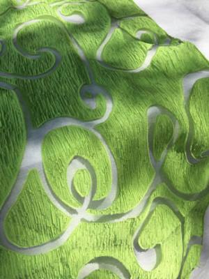 Sheer Swirl Runner - Green