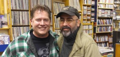 Greg McClellan &  Justin Englet at Vortex Music & Movies