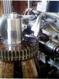 "Stine Gear accommodates custom machining as well as ""cut teeth only"" orde"