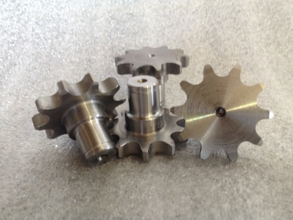 Stine Gear makes custom gears, from print, or reverse engineered.