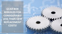 Stine Gear offers Gearbox Rebuilds for considerable less than Original Equipment Manufacturer Replacement Cost.