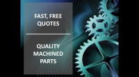 Stine Gear offers Fast, Free Quotes and Quality Machined Parts.