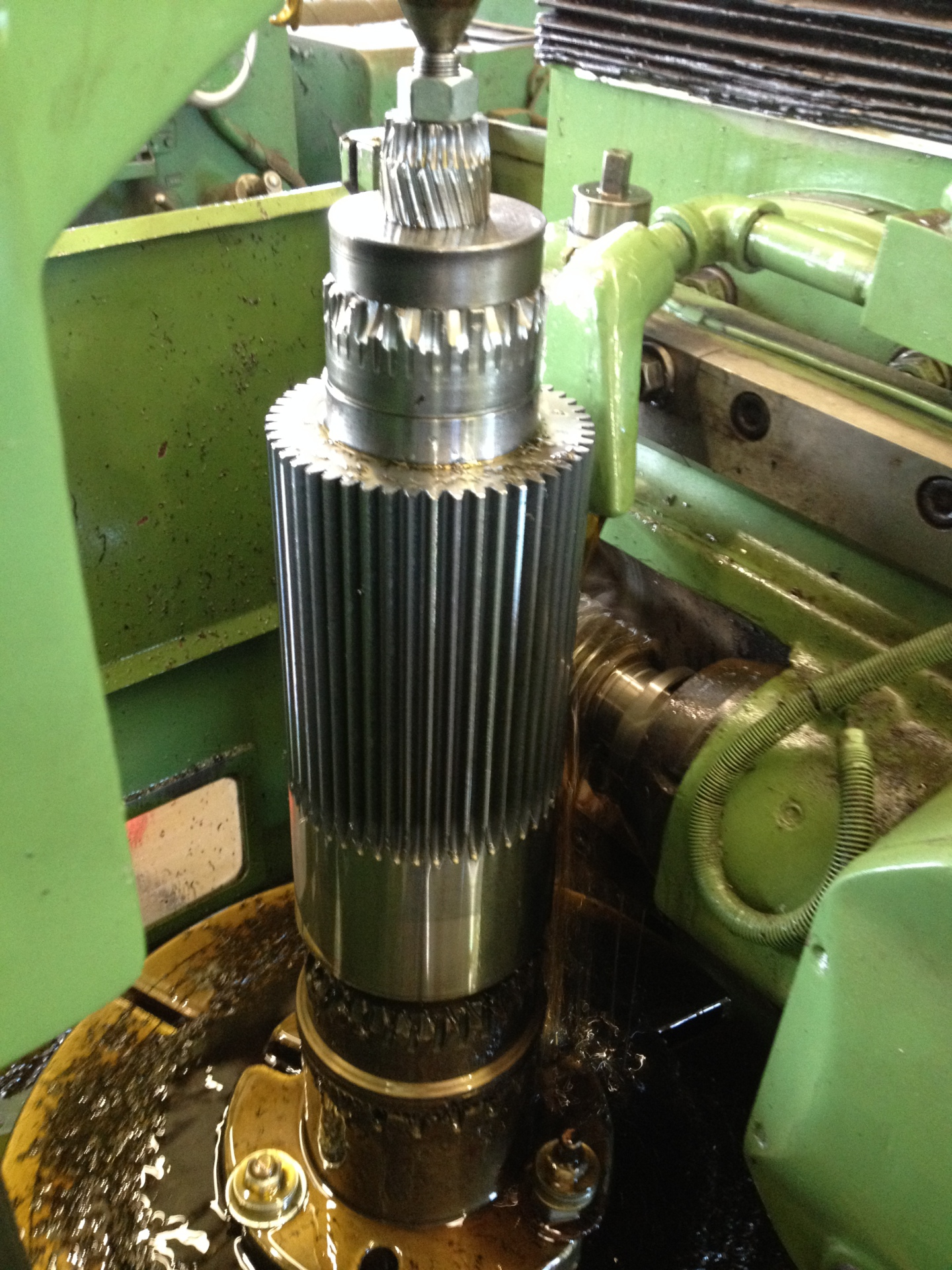 "Stine Gear accommodates custom machining as well as ""cut teeth only"" orders"