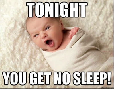 Goodbye Sleep, Hello Insane Baby