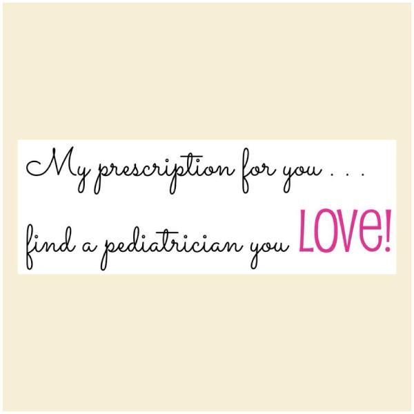 Trust in my Pediatrician