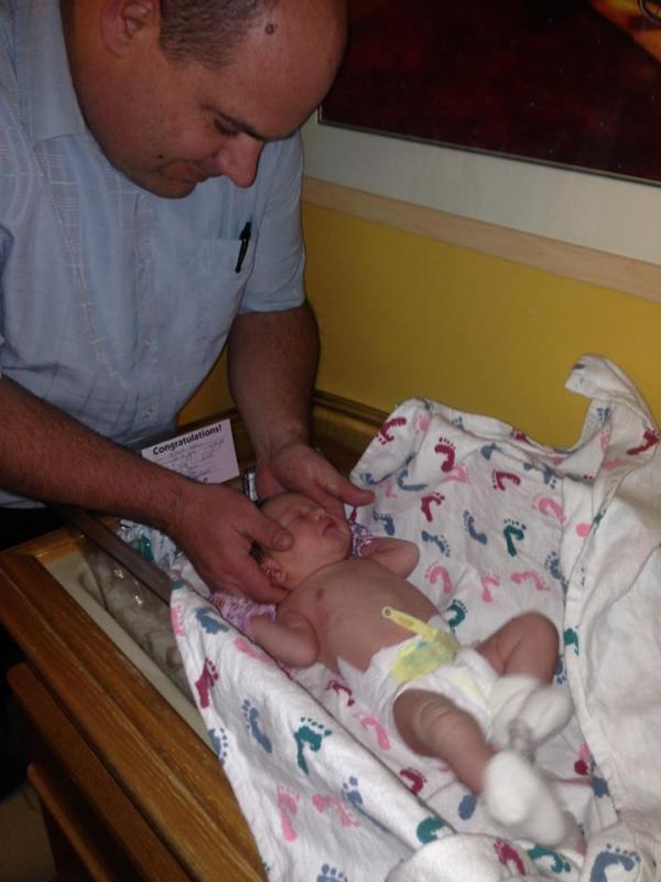 Chiropractors aren't Just for parents, babies get adjustments too