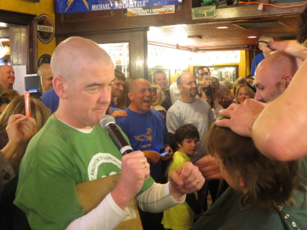 St. Baldrick's Syracuse Kitty Hoynes
