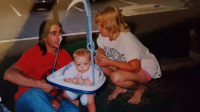 Me with my mother and father