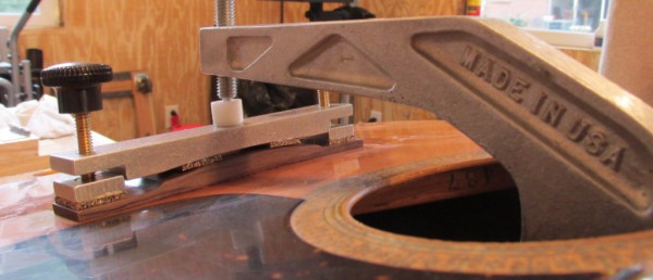 The Fret Shack acoustic guitar bridge replacement