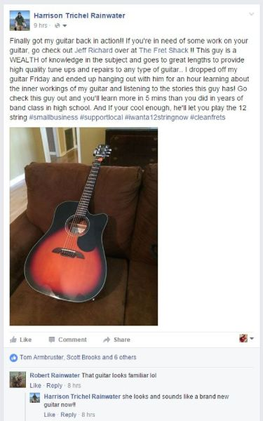 The Fret Shack review student acoustic