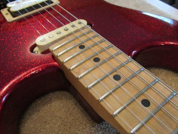 Custom ESP strat refret by The Fret Shack
