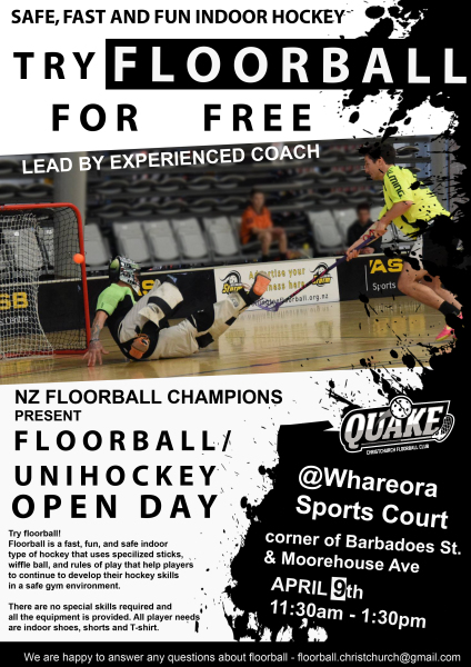 Christchurch Open Day 2016, give it a go!