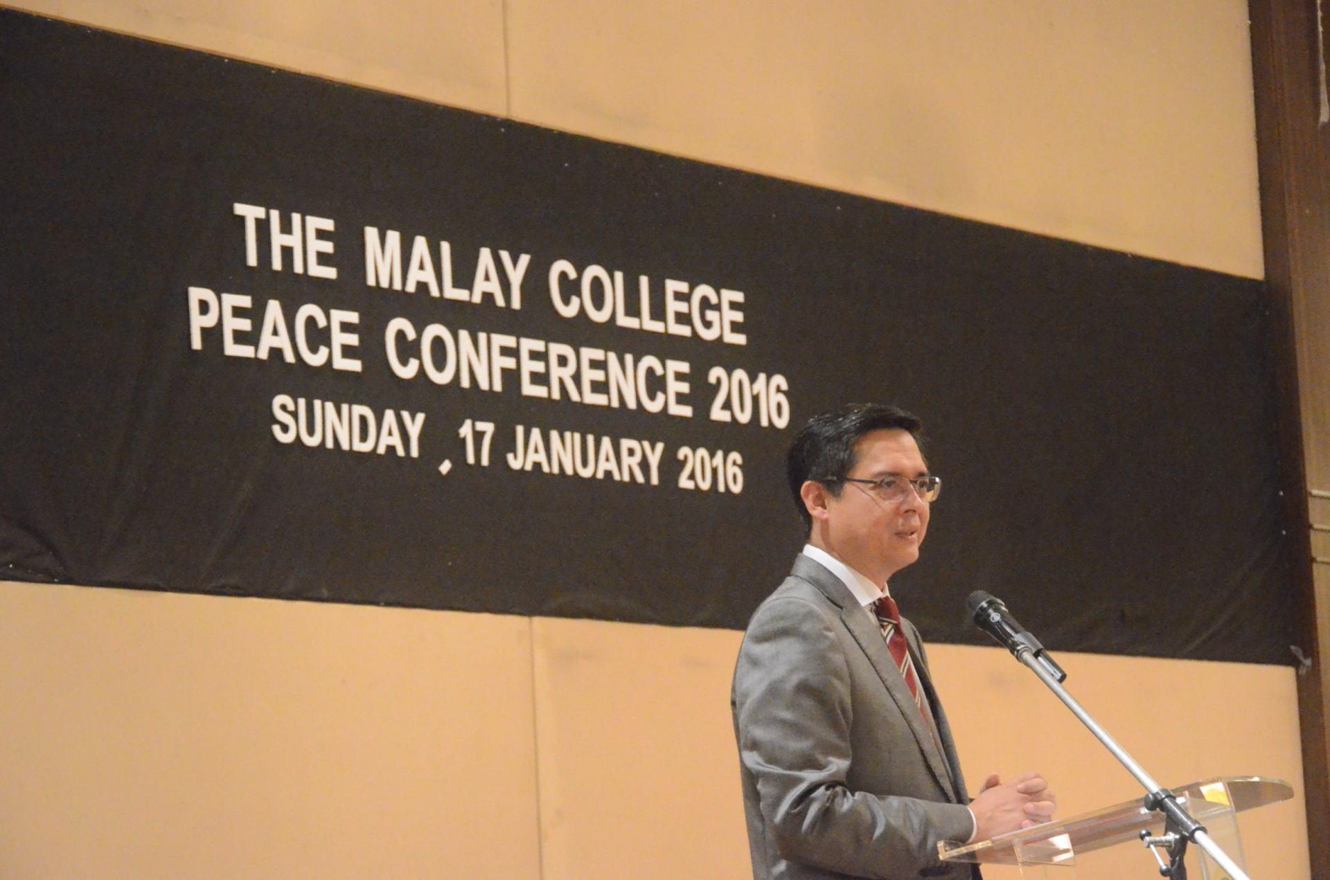MCKK PEACE CONFERENCE 2016